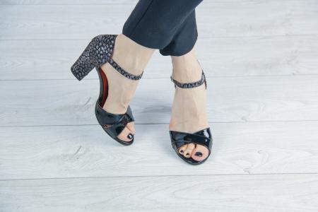 Sandale din piele naturala lacuita MSSD5219-20 [1]