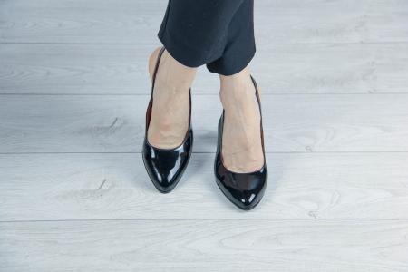 Sandale din piele naturala lacuita MSSD52417-1-20 [1]