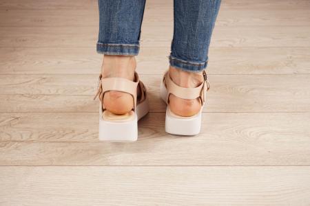 Sandale din piele naturala nude MSSD1621-21 [4]