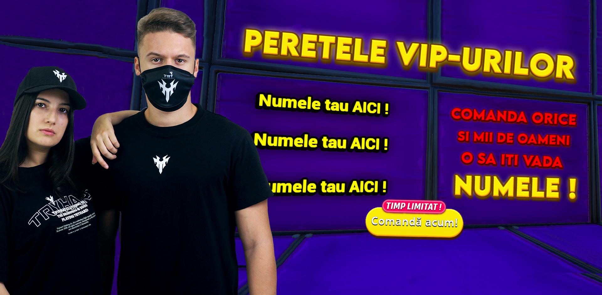 Perete VIP !