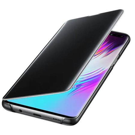 Husa de protectie Samsung Clear View Cover pentru Galaxy S10 5G 2