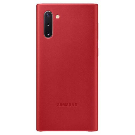 Husa de protectie Samsung Leather pentru Galaxy Note 10 Plus 0