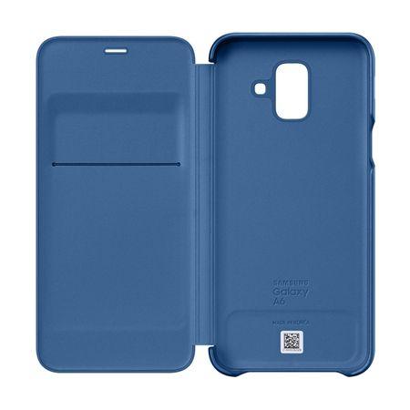 Husa de protectie Samsung Wallet Cover pentru Galaxy A6 Plus (2018) 3