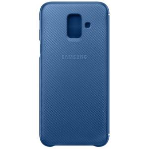 Husa de protectie Samsung Wallet Cover pentru Galaxy A6 Plus (2018)0