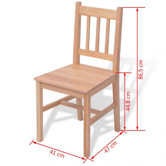 Set masa si scaune ,6+1,dining,pin,mobHAUS 3