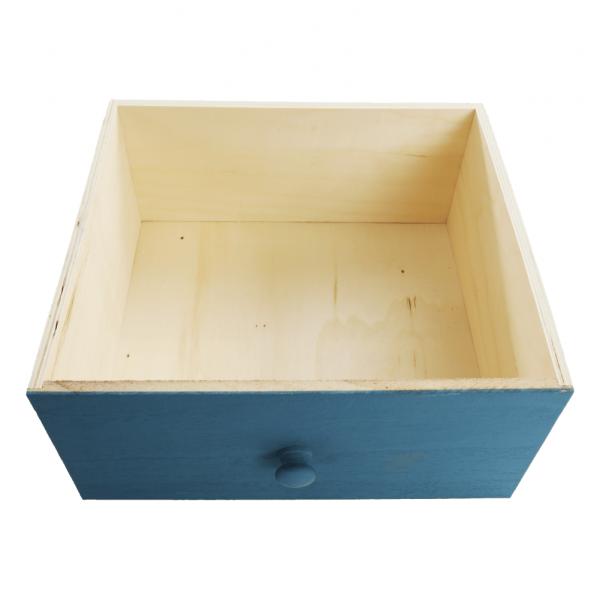 Comodă, albă/sertare colorate, MONET 1 [17]