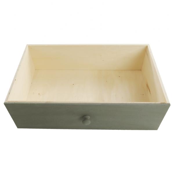 Comodă, albă/sertare colorate, MONET 1 [18]