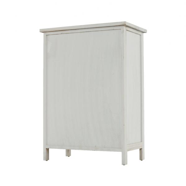 Comodă, albă/sertare colorate, MONET 1 [11]