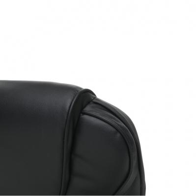 Scaun birou cu funcţie de masaj, negru, TYLER UT-C2652M11