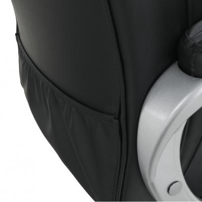 Scaun birou cu funcţie de masaj, negru, TYLER UT-C2652M12