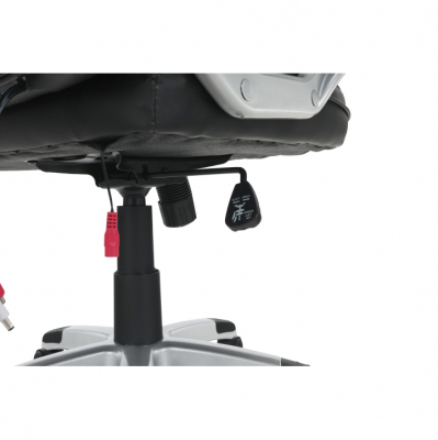 Scaun birou cu funcţie de masaj, negru, TYLER UT-C2652M14