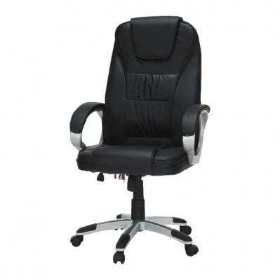 Scaun birou cu funcţie de masaj, negru, TYLER UT-C2652M3