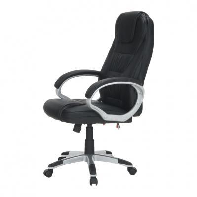 Scaun birou cu funcţie de masaj, negru, TYLER UT-C2652M4