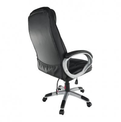 Scaun birou cu funcţie de masaj, negru, TYLER UT-C2652M8