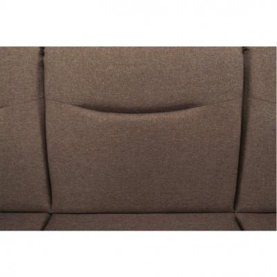 Canapea cu trei locuri, extensibilă, maro, MILO 3 locuri2