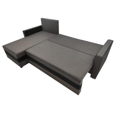 Coltar universal, negru/gri, 219x139x78/86 cm, PAULITA3