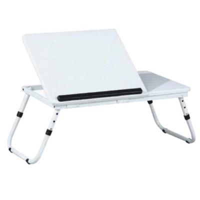 Măsuţa pentru notebook/suport pentru tablete, alb, EVALD0