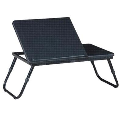 Măsuţa pentru notebook/suport pentru tablete, negru, EVALD0