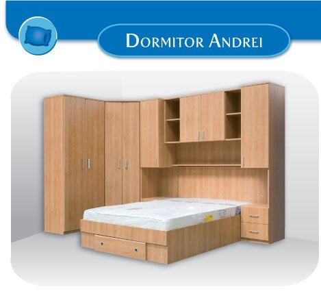 Dormitor pe colt Andrei