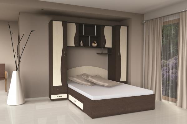Dormitor tineret cu ancadrament Albert 0