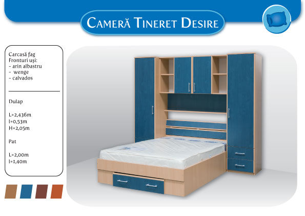 Dormitor tineret Desire  0