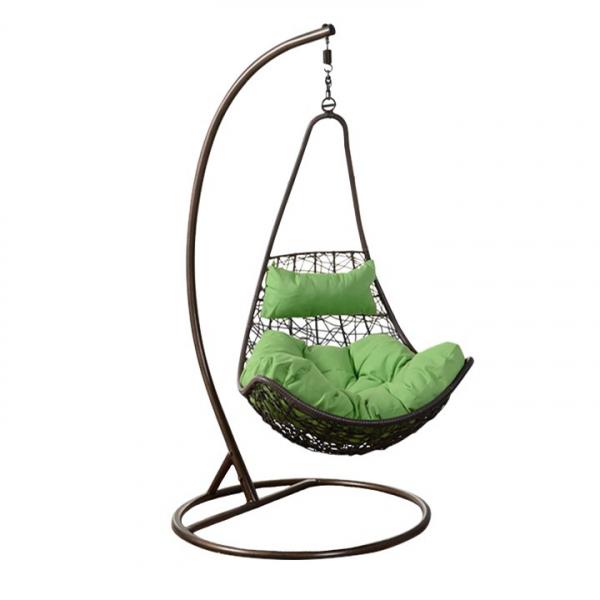 fotoliu-balansoar-suspendat-verde