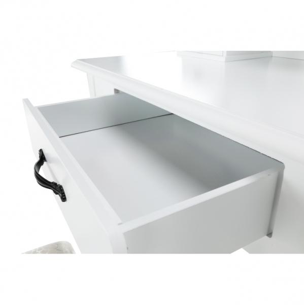 masa-toaleta-taburet-oglinda-alb 5