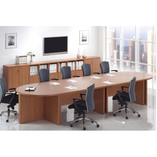 Masa de consiliu 12 persoane, modulara, Oscar cires 0