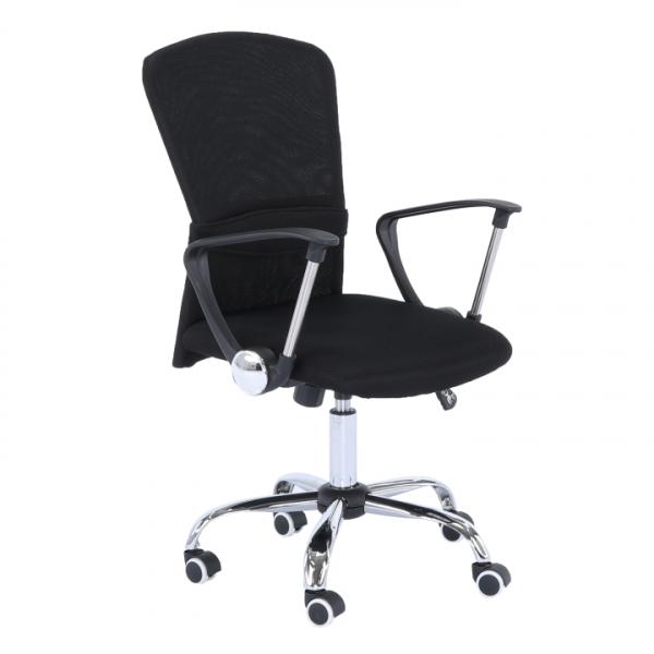 scaun-operational-mesh-negru 0