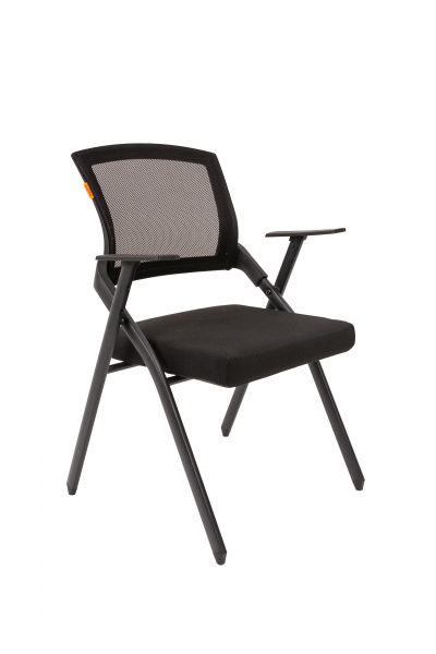 scaun-conferinta-pliabil-mesh-negru 0