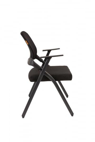 scaun-conferinta-pliabil-mesh-negru 2