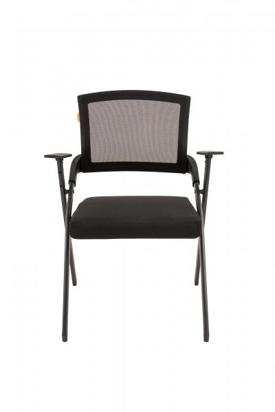 scaun-conferinta-pliabil-mesh-negru 1