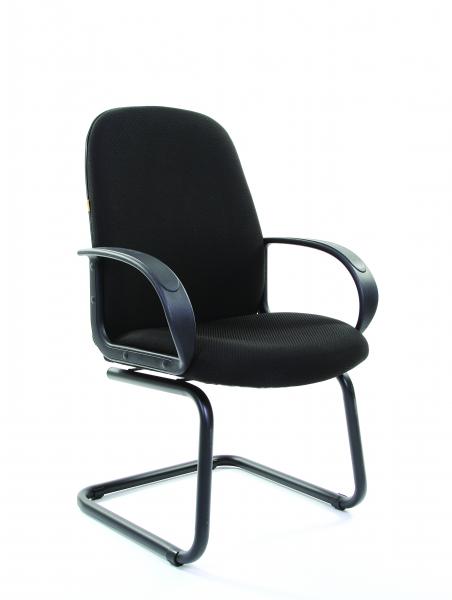 scaun-conferinta-talpa-sanie-stofa-neagra 1