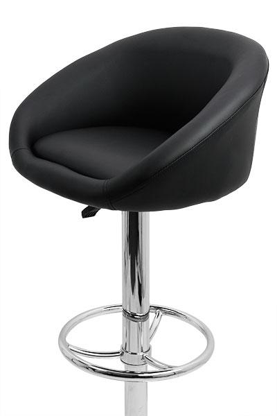 scaun-bar-negru-reglabil-pe-inaltime 2