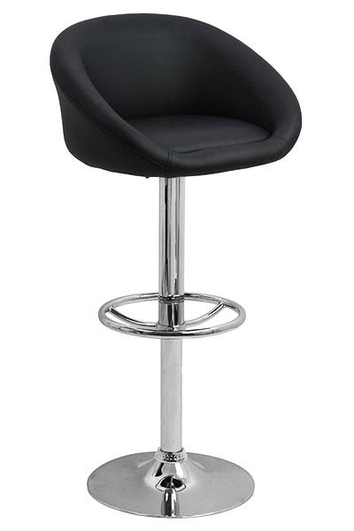scaun-bar-negru-reglabil-pe-inaltime 0