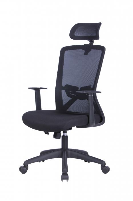 Scaun ergonomic rotativ Joy cu tetiera [1]