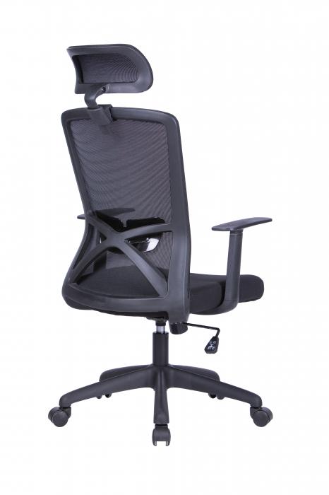 Scaun ergonomic rotativ Joy cu tetiera [4]