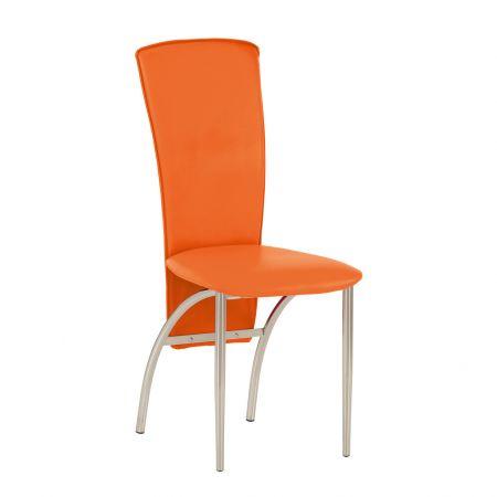 Scaun bucatarie Flash portocaliu 0