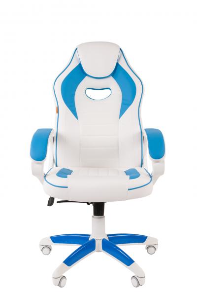scaun-gaming-sb16-alb-blue 1