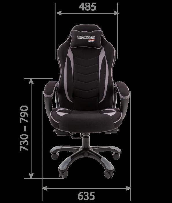 scaun-gaming-negru-gri 4