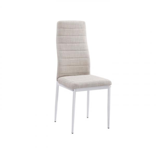 scaun-bucatarie-alb-bej 0