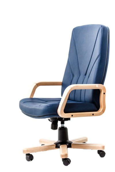scaun-directorial-5900-piele-neagra 1