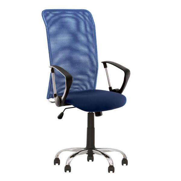 Scaun birou ergonomic MG C06 Albastru