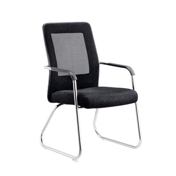 scaun-sedinta-mesh-negru 0
