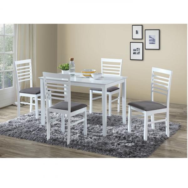 set-masa-cu-scaune-alb-gri 1