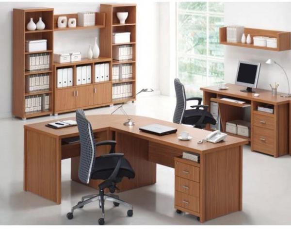 Set mobilier birou Oscar cires 0