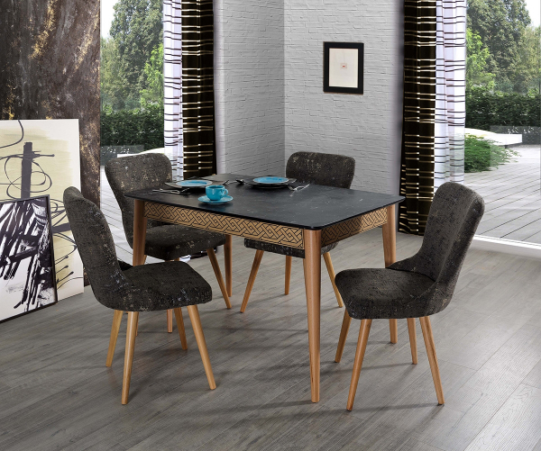 Masa Living Extensibila Bohemia Brown 2