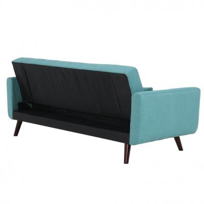 Canapea extensibilă, 200 x 85 x 85cm, turcoaz, ARKADIA7