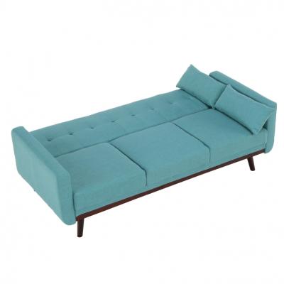 Canapea extensibilă, 200 x 85 x 85cm, turcoaz, ARKADIA6