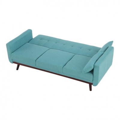Canapea extensibilă, 200 x 85 x 85cm, turcoaz, ARKADIA4